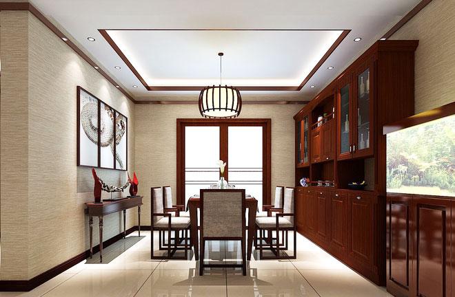 11个中式餐厅吊灯设计图 古色古香风袭面而来