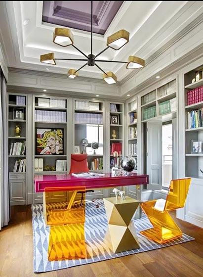 10个家庭小书房装修图片