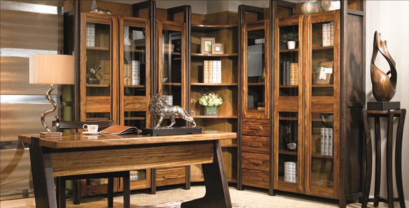 8张富有禅意的中式书房效果图