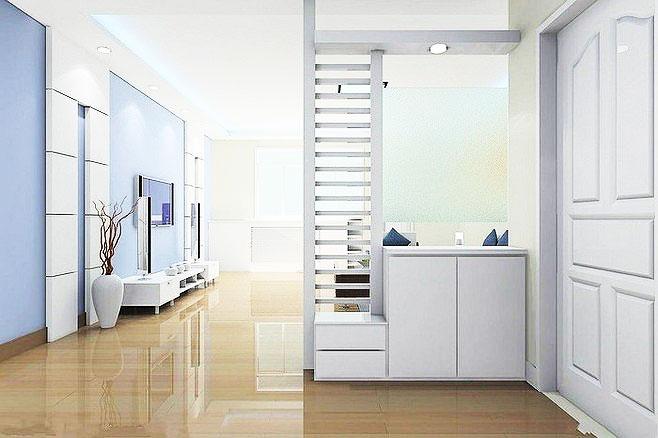 客厅隔断设计展示,15张客厅玄关隔断效果图