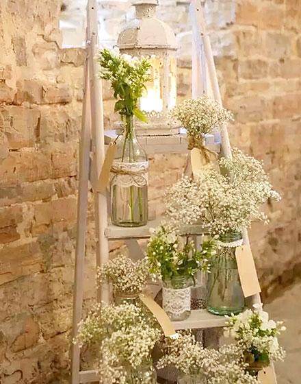 装饰梯子 13张梯子阳台花架设计效果图