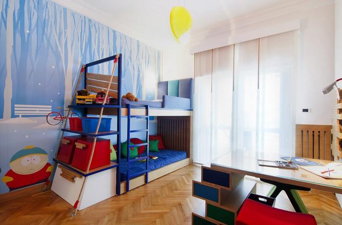 19款儿童房手绘墙设计效果图