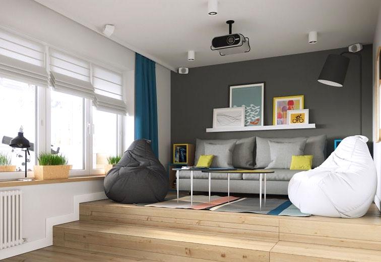 32平一居室小户型装修图 超小户型设计图