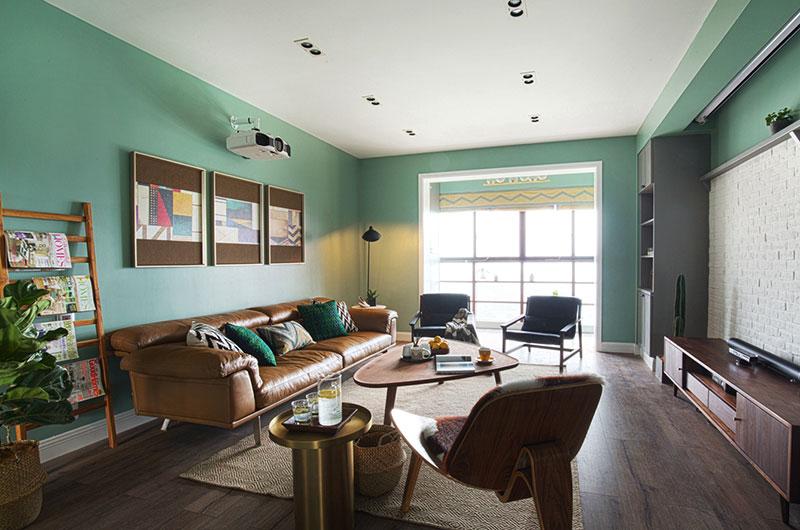 自然的气息 北欧风格四室两厅装修设计效果图
