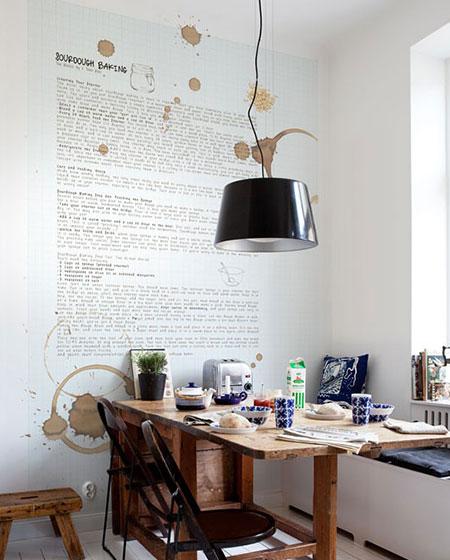 收放自如省空间 小户型折叠餐桌设计