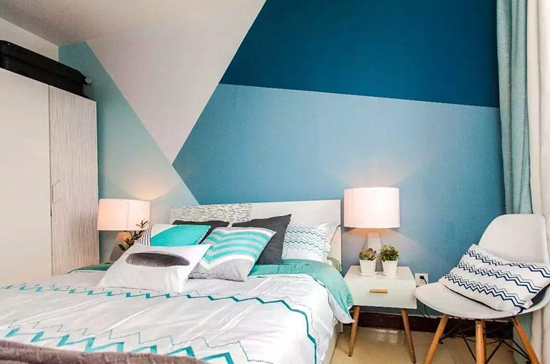北欧风格单身公寓装修图 让色彩改造家