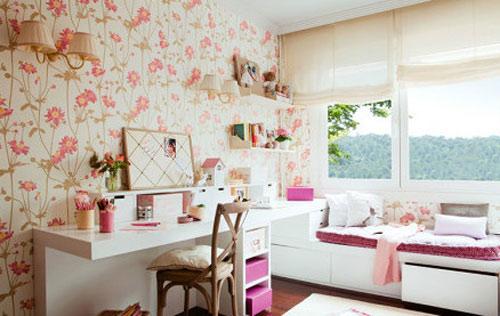 15款美式卷帘窗帘飘窗窗帘图片效果图