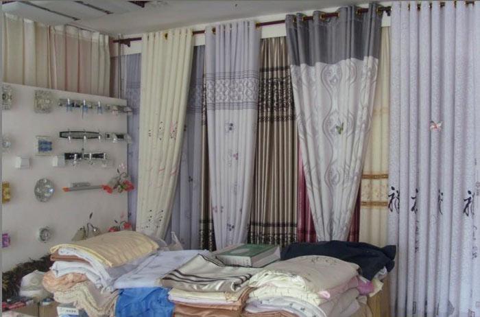 7款窗帘店店面装修效果图