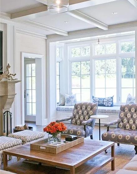 简欧风格客厅 优雅与现代并存