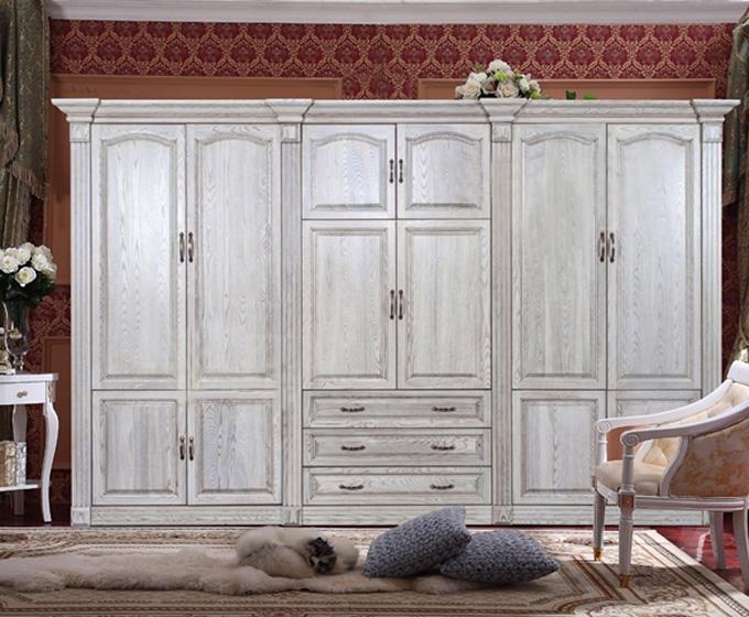12个欧式风格大衣柜设计效果图