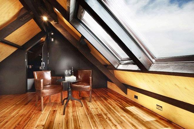 11个斜顶阁楼装修样板房装修效果图9