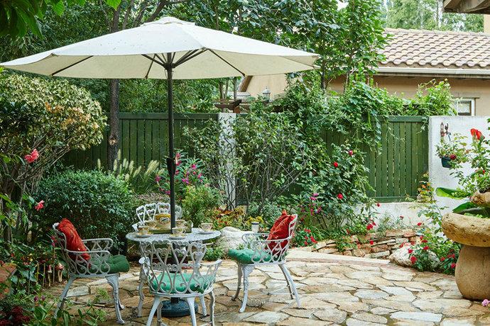 恬静田园风格,入户花园装修效果图