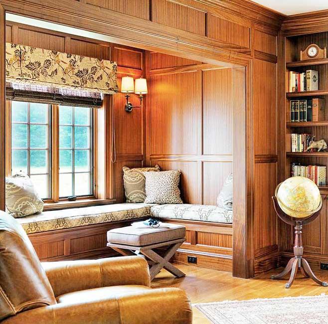 富有个性的转角飘窗装修效果图-中国木业网图片