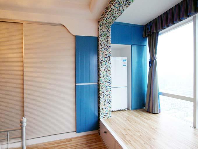 地中海风格小户型单身公寓装修效果图10