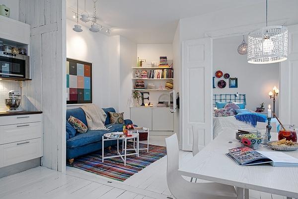 50平米超小户型两室两厅装修效果图