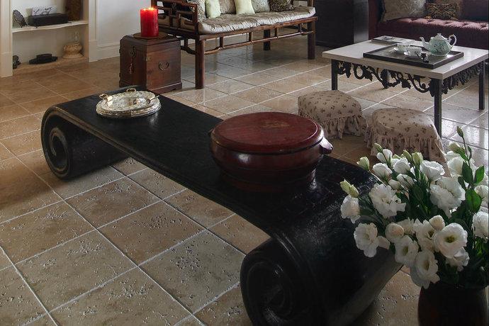 四居室超大户型简欧客厅装修效果图2