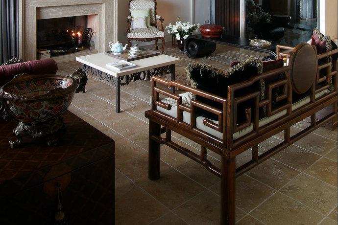 四居室超大户型简欧客厅装修效果图4