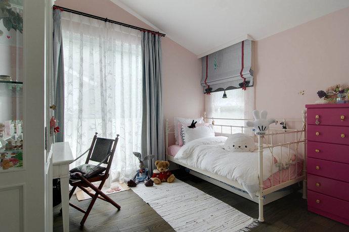 四居室超大户型简欧客厅装修效果图8