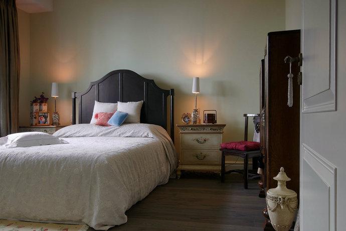四居室超大户型简欧客厅装修效果图11