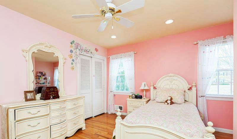 18图秀浪漫风格 粉红色卧室装修图片-中国木业网