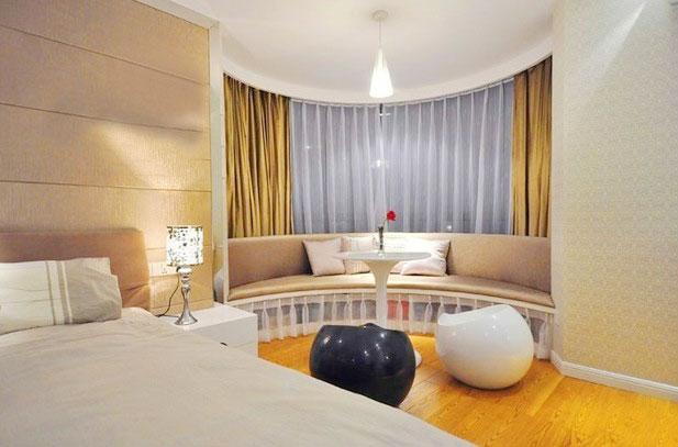 11款裝飾用透明窗簾客廳窗簾效果圖