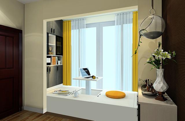 進門花園陽臺的改造設計圖片,小戶型家庭住宿空間不足是大難題,將