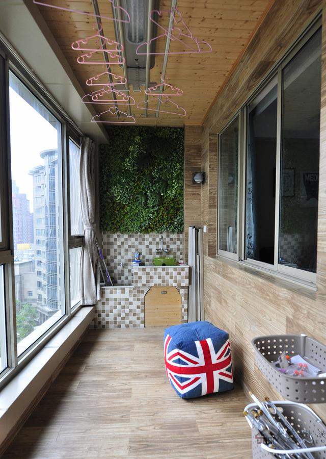经济又实用的小户型阳台花园装修效果图