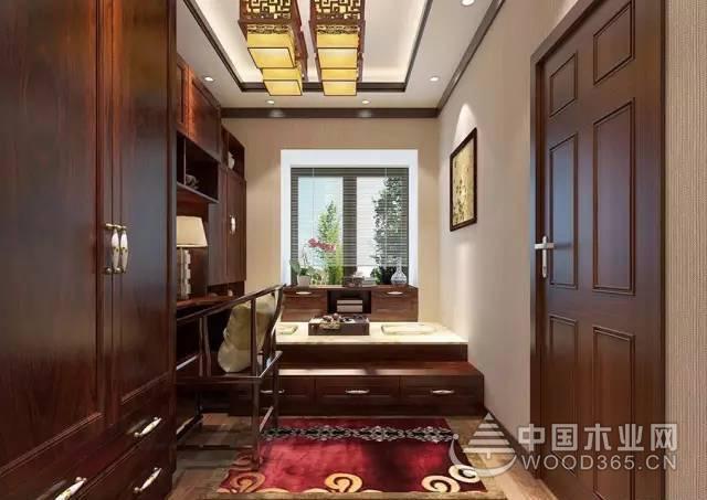 100平米新中式客厅装修效果图图片