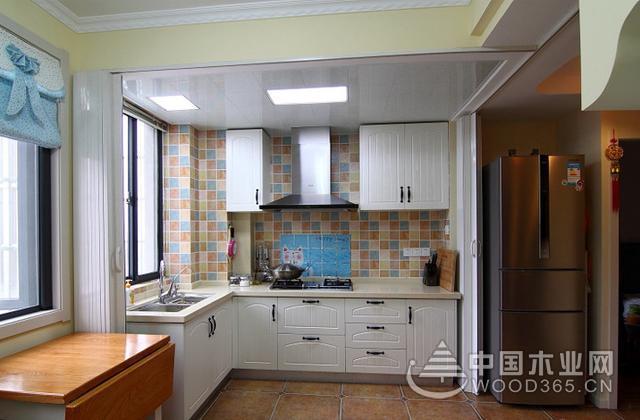 5款厨房橱柜和瓷砖颜色搭配方案