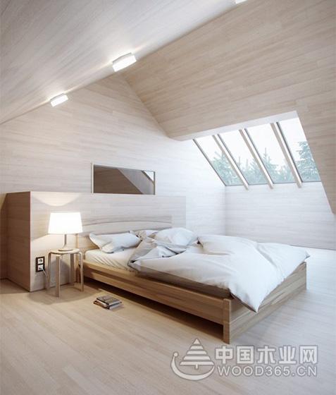 10款斜顶阁楼装修设计图片5