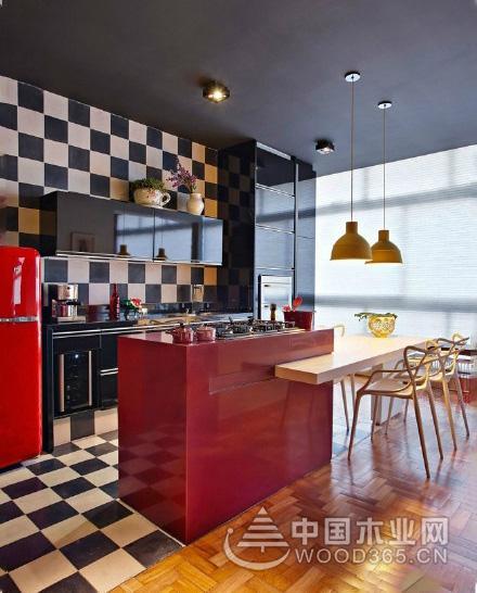 10款美式小厨房装修效果图