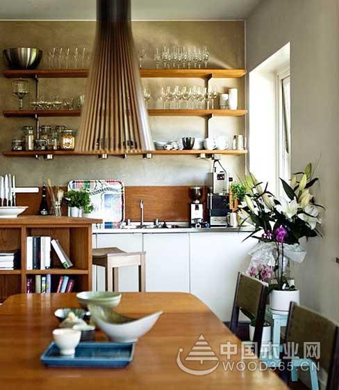 没有吊柜的厨房,10款收纳型小厨房装修效果图