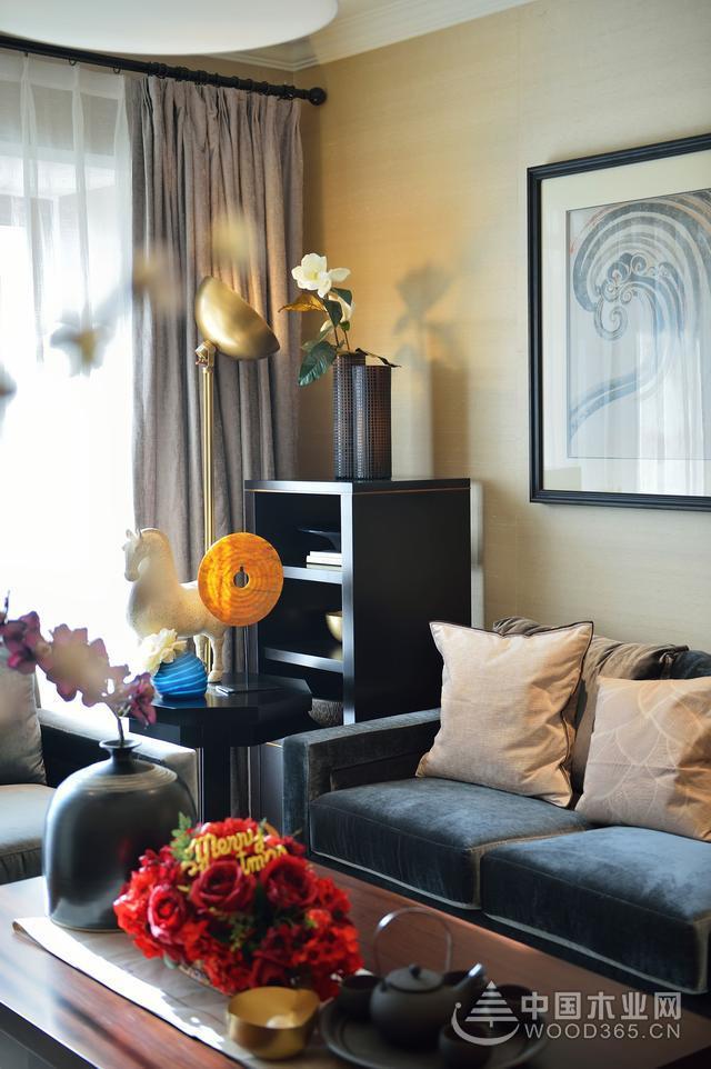 150平米现代简约风格样板房装修案例-中国木业网