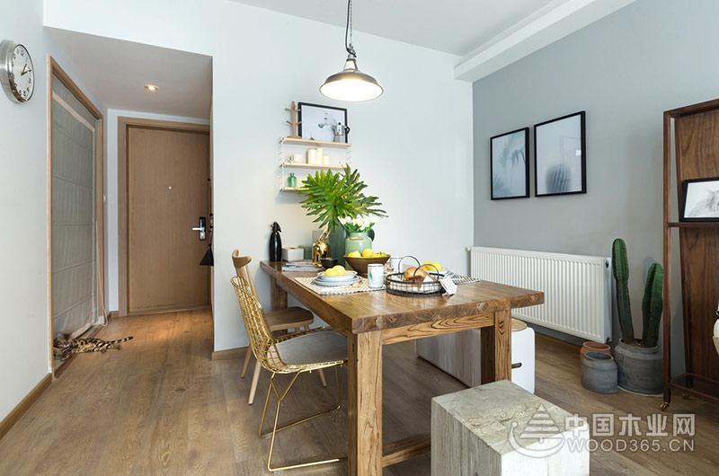 70平米小户型公寓,两房两厅装修效果图片4