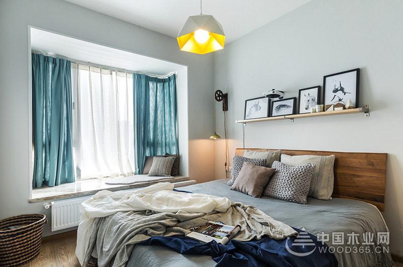 70平米小户型公寓,两房两厅装修效果图片5
