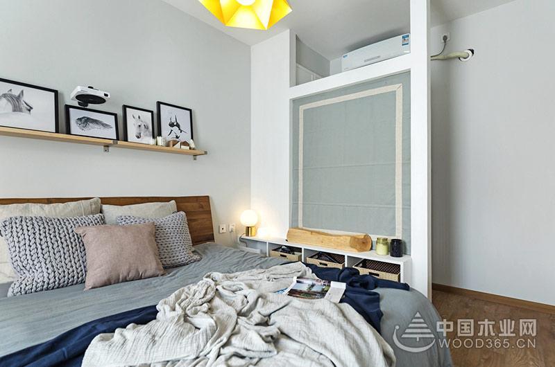 70平米小户型公寓,两房两厅装修效果图片6