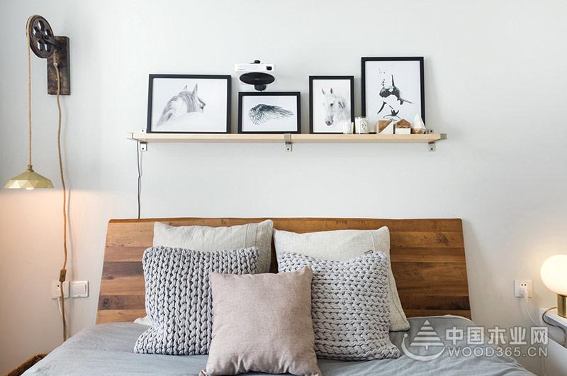 70平米小户型公寓,两房两厅装修效果图片7