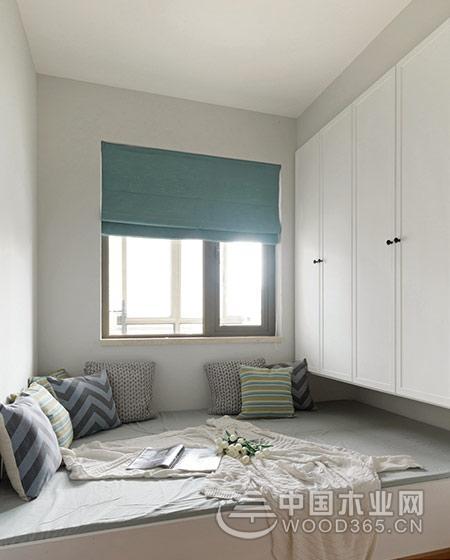 70平米小户型公寓,两房两厅装修效果图片8