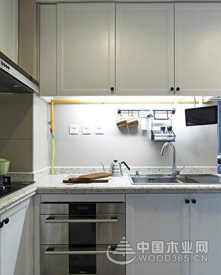 70平米小户型公寓,两房两厅装修效果图片9