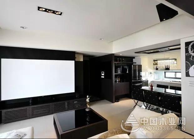 116平方现代简约风格的三室两厅装修效果图