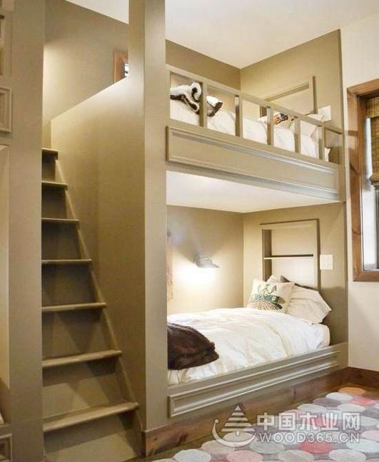9張兒童房雙層床設計效果圖