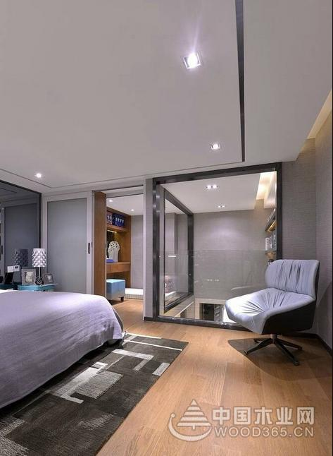 金属质感的loft复式公寓装修效果图