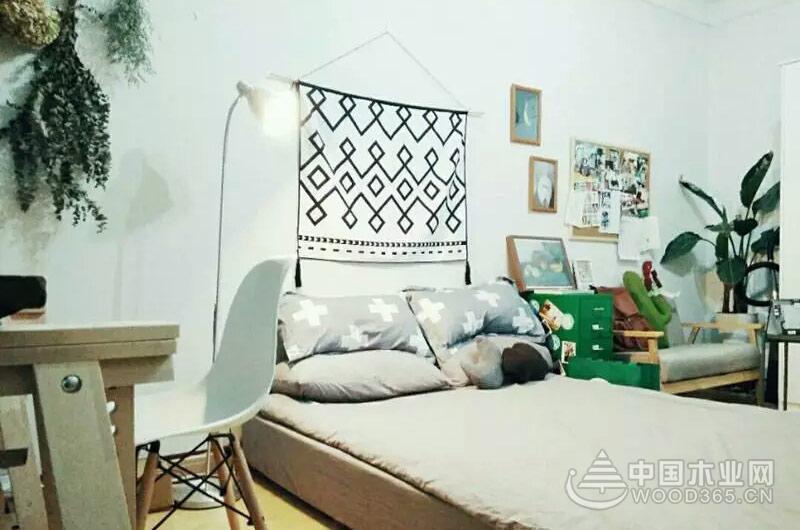 25平米一居室小户型装修图