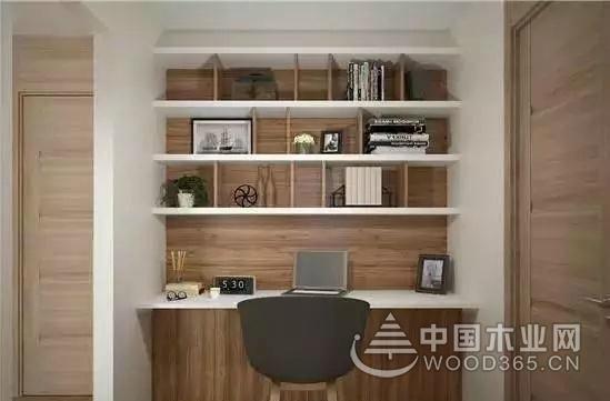 8张小户型角落打造小书房装修效果图
