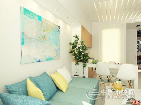 29平米一居室小户型装修效果图