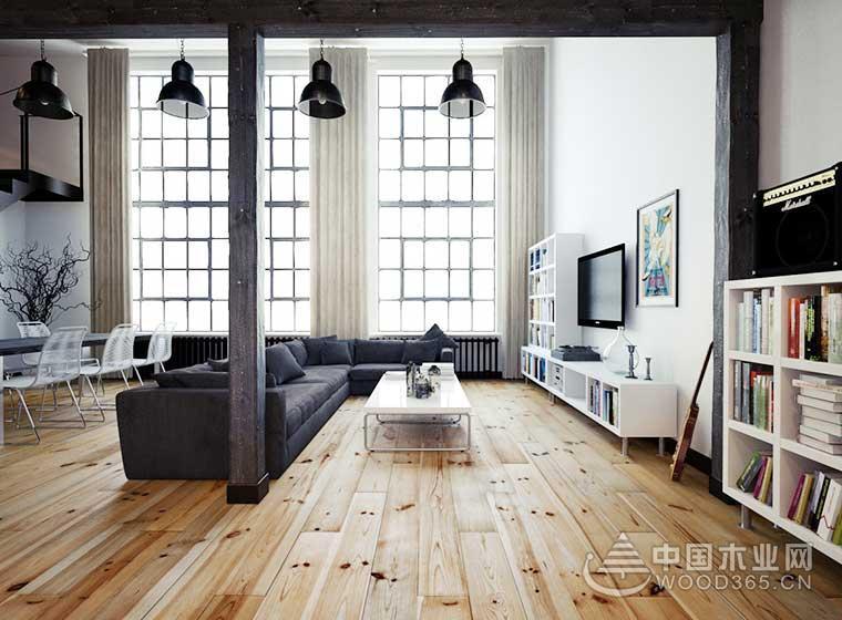 80平方米简欧风复式公寓装修效果图3