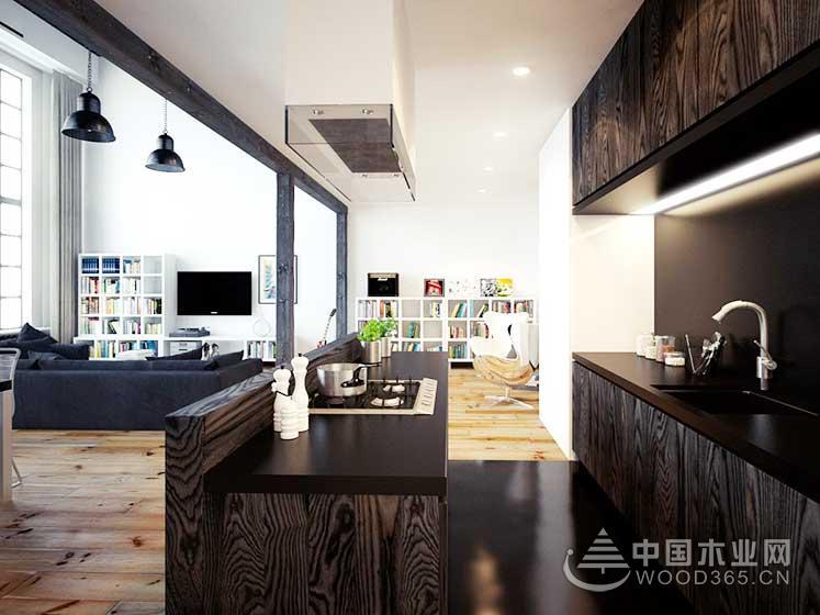 80平方米简欧风复式公寓装修效果图6