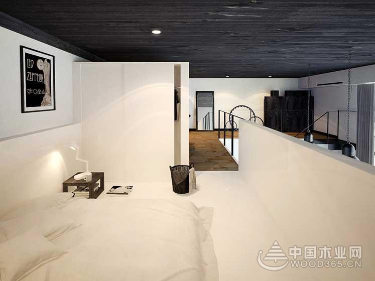 80平方米简欧风复式公寓装修效果图9