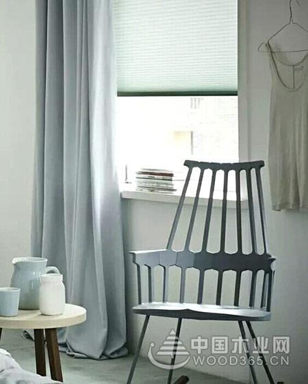 10款纯色客厅窗帘效果图