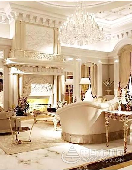 10款优雅大气的欧式客厅装修效果图片